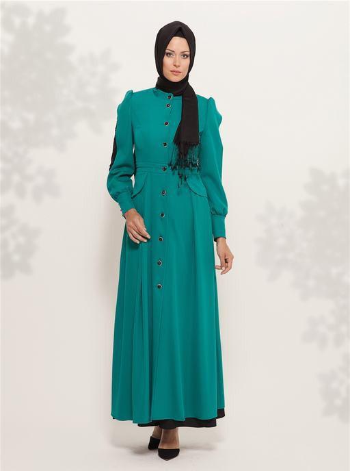 Busana Muslimah Model Jubah Ala Turki Jadi Mode Tren